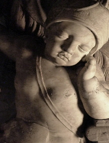 Putto-Alabaster